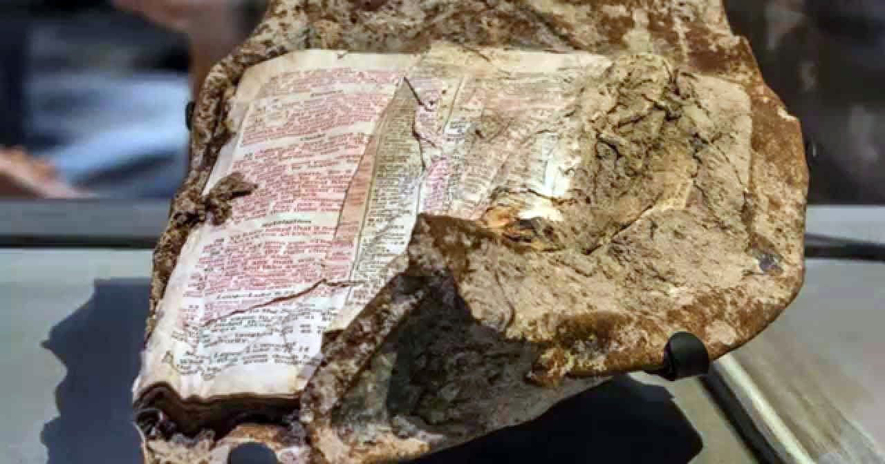 This Bible Was Found Melted To A Piece Of Steel From 9/11