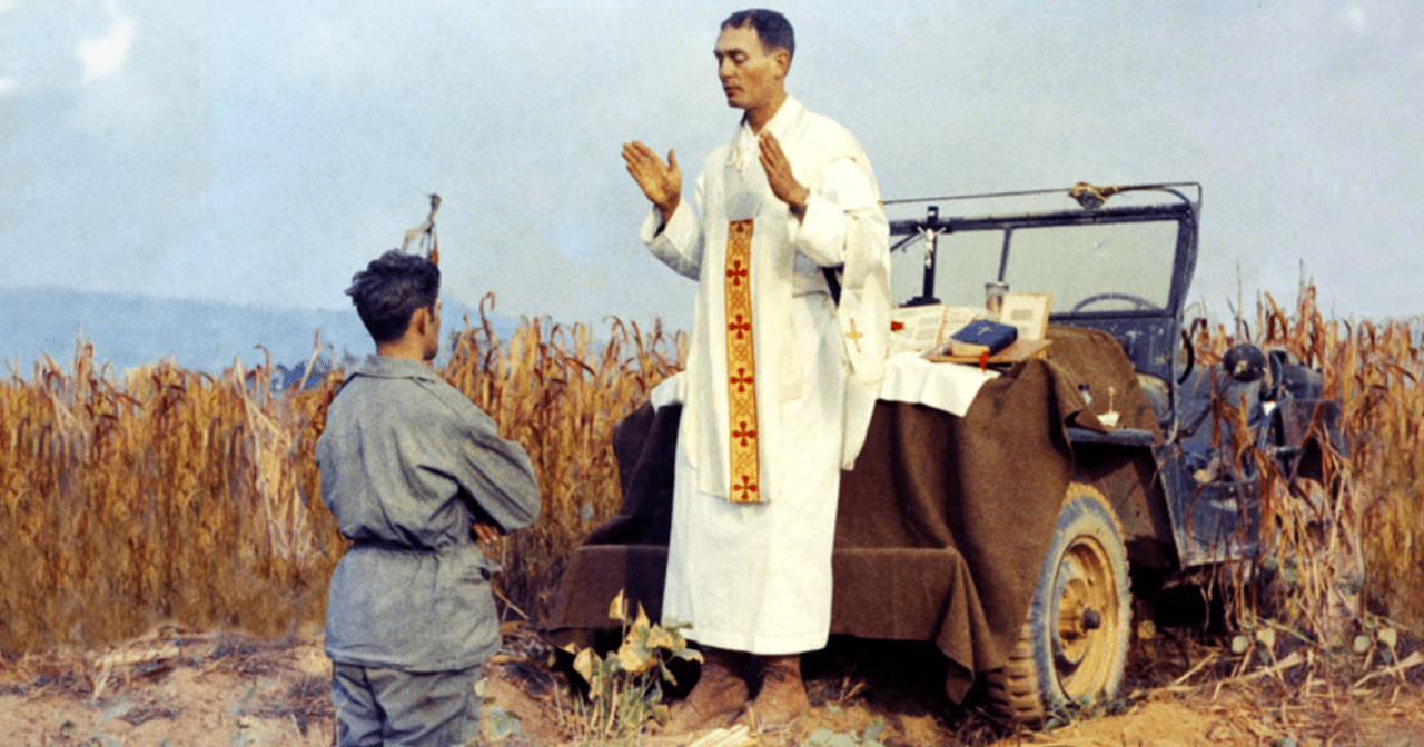 US Army Chaplain & Medal of Honor Recipient Could Soon Be a Saint | uCatholic
